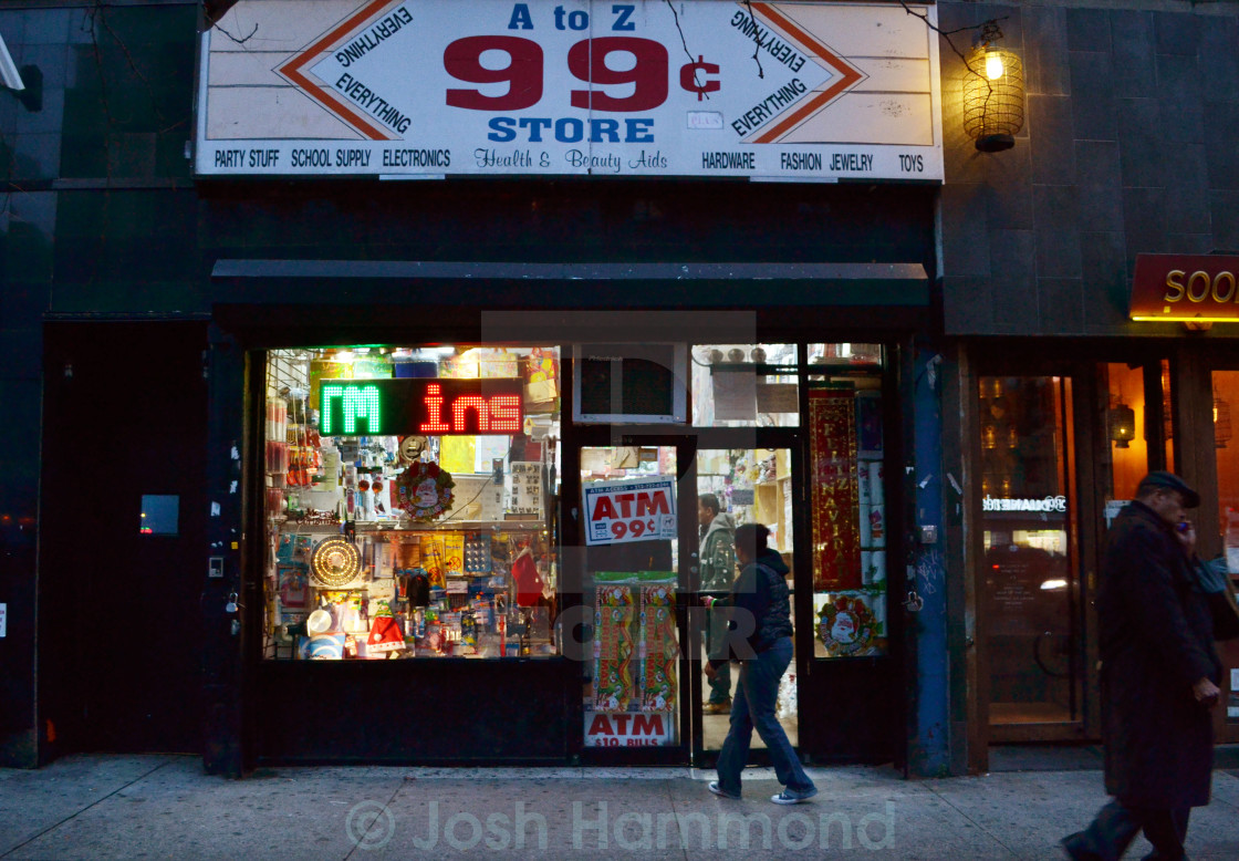 """99 Cent Store"" stock image"