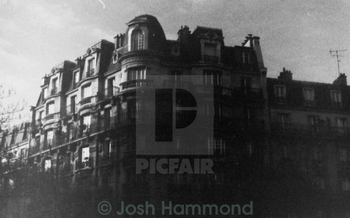 """Mansion/Apartments, Paris"" stock image"