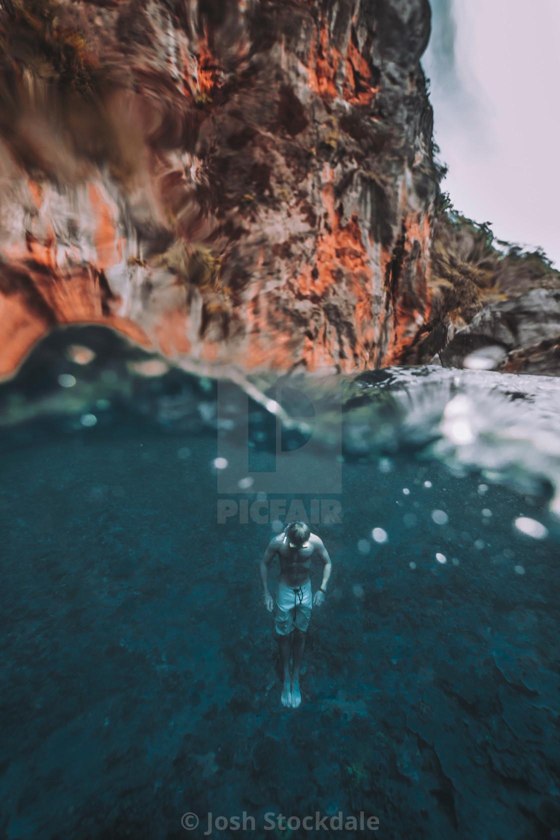 """Twin Lagoon, El Nido, Philippines"" stock image"