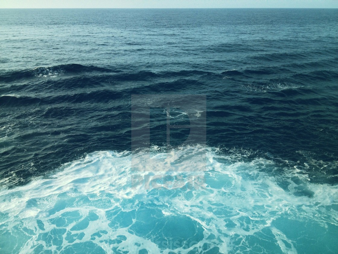 """""""The Motion of the Ocean"""" stock image"""