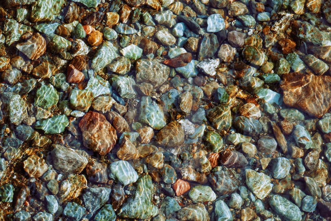 """""""Rocks, water, Lake District"""" stock image"""