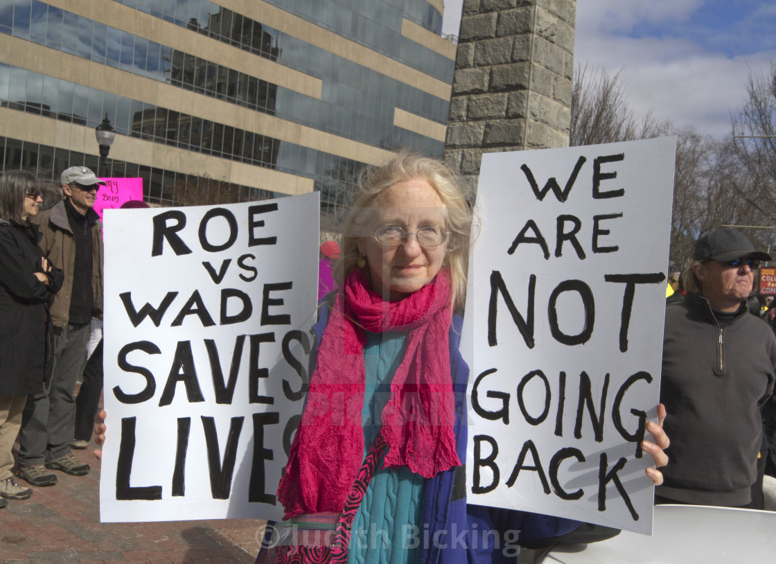 photograph about Printable Signs for Women's March titled Roe vs Wade Indications within 2018 Womens March - License, down load