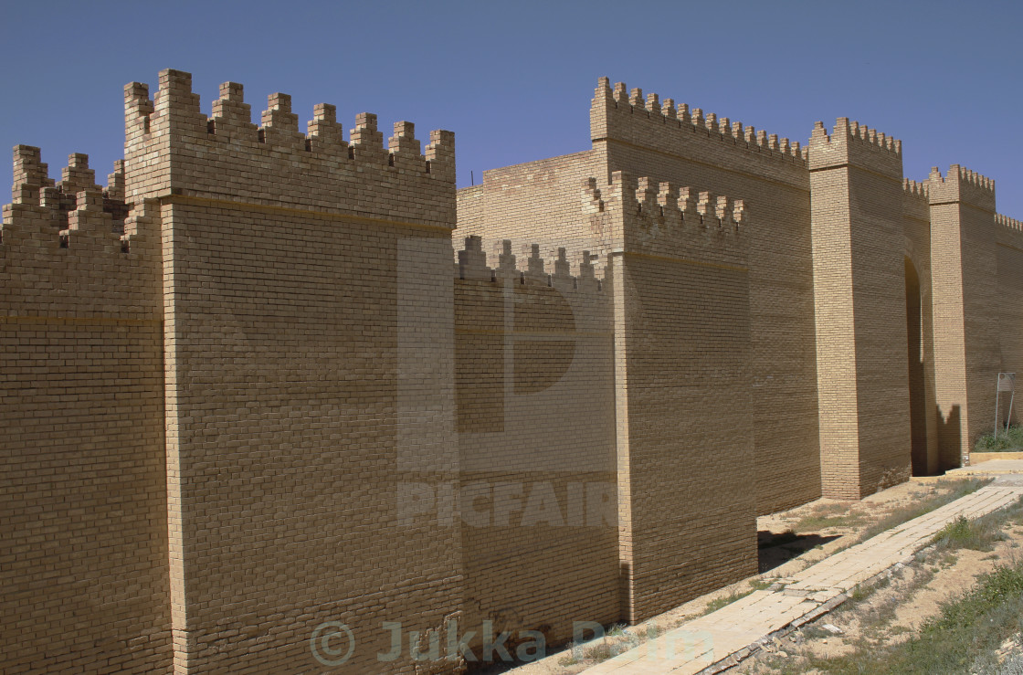 Walls of babylon license, download or print for £12. 40 | photos.