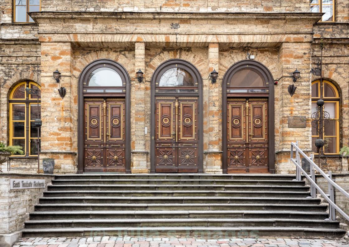 """""""Estonian Academy of Sciences"""" stock image"""