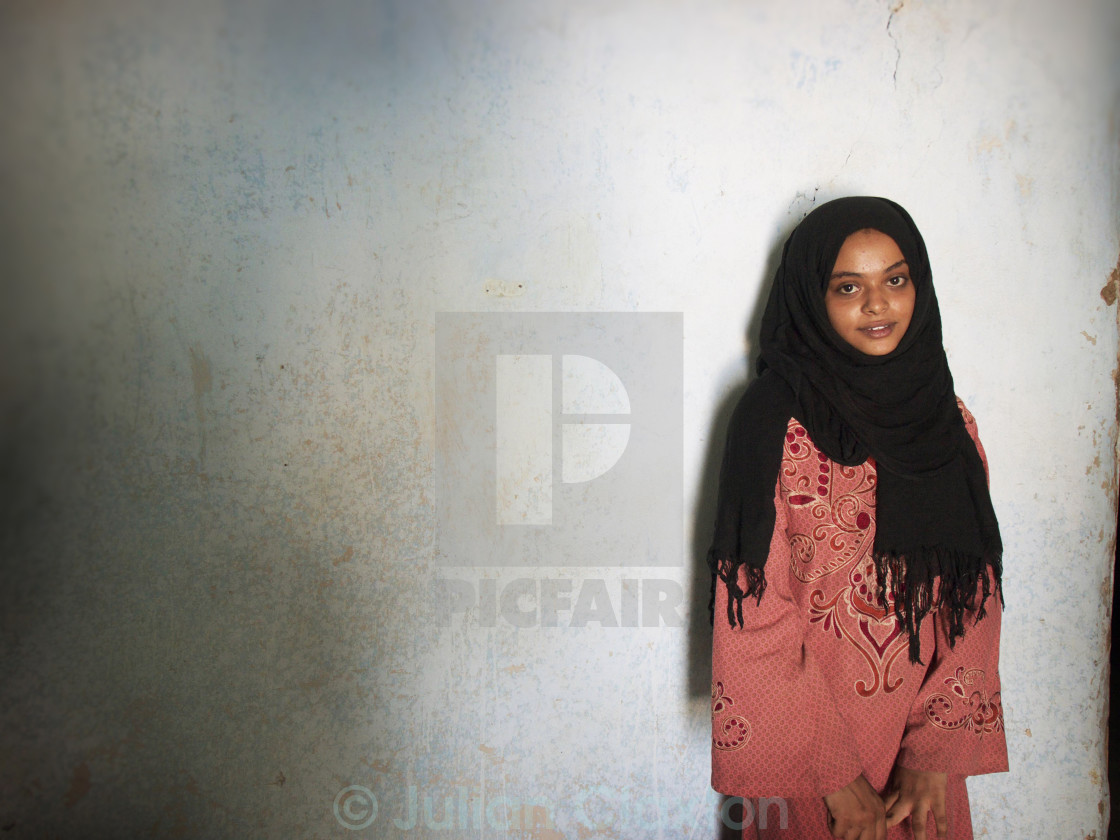 """Young Muslim Girl"" stock image"