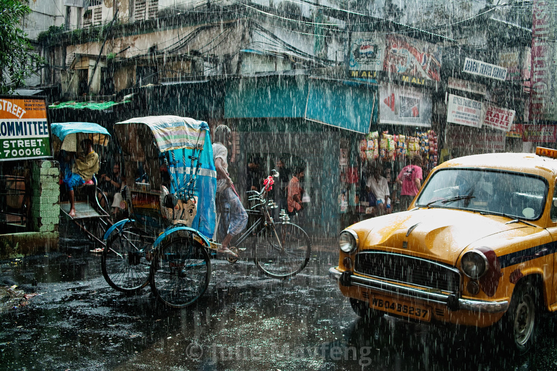 """Monsoon"" stock image"