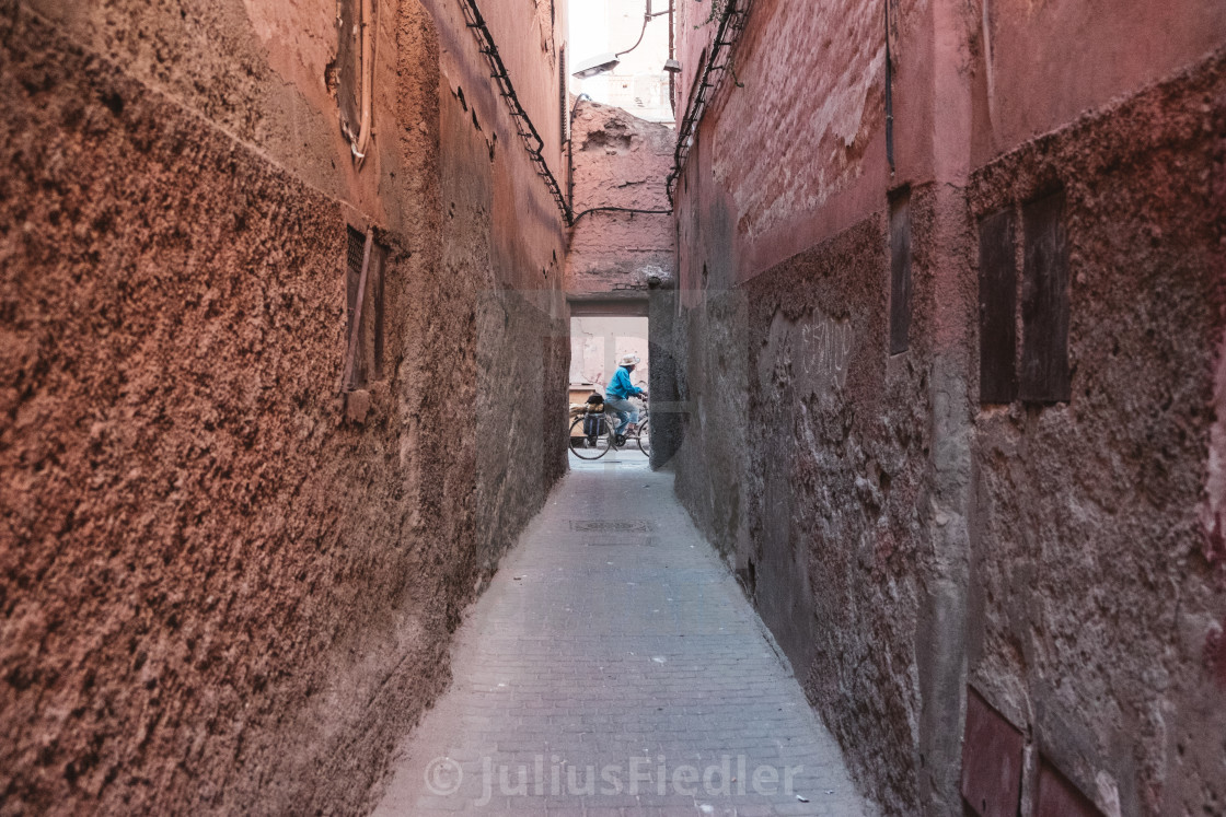 """Narrow path"" stock image"