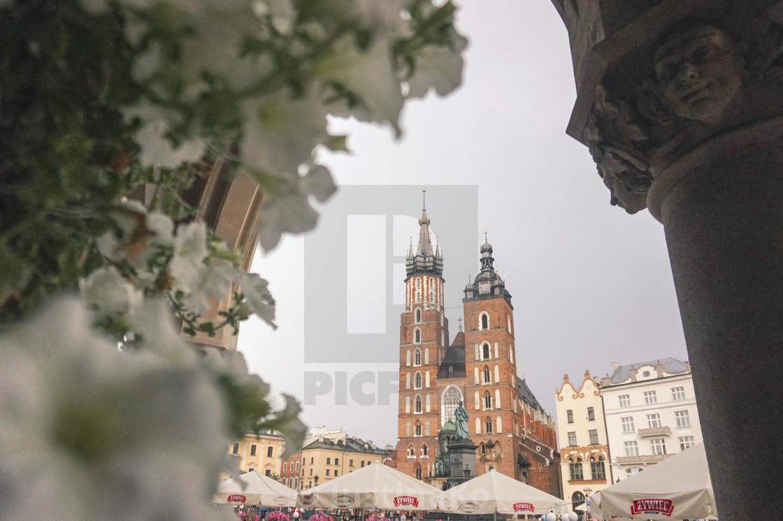 """Polish Church"" stock image"