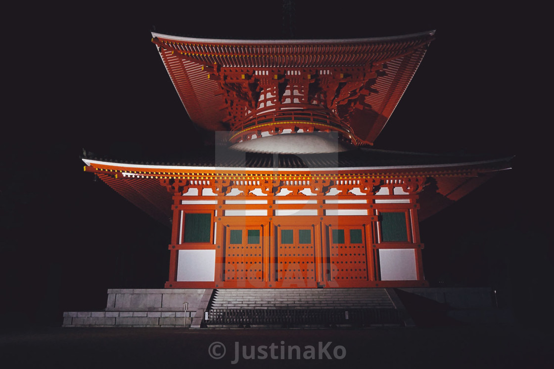 """Temple in Japan"" stock image"