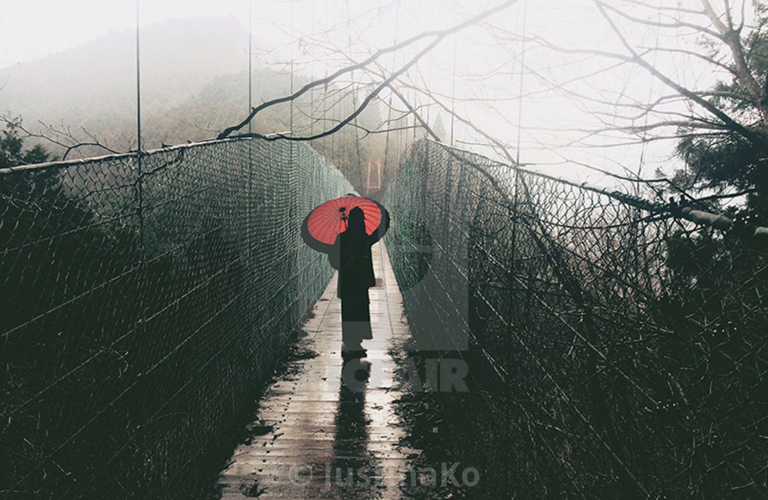 """red umbrella"" stock image"