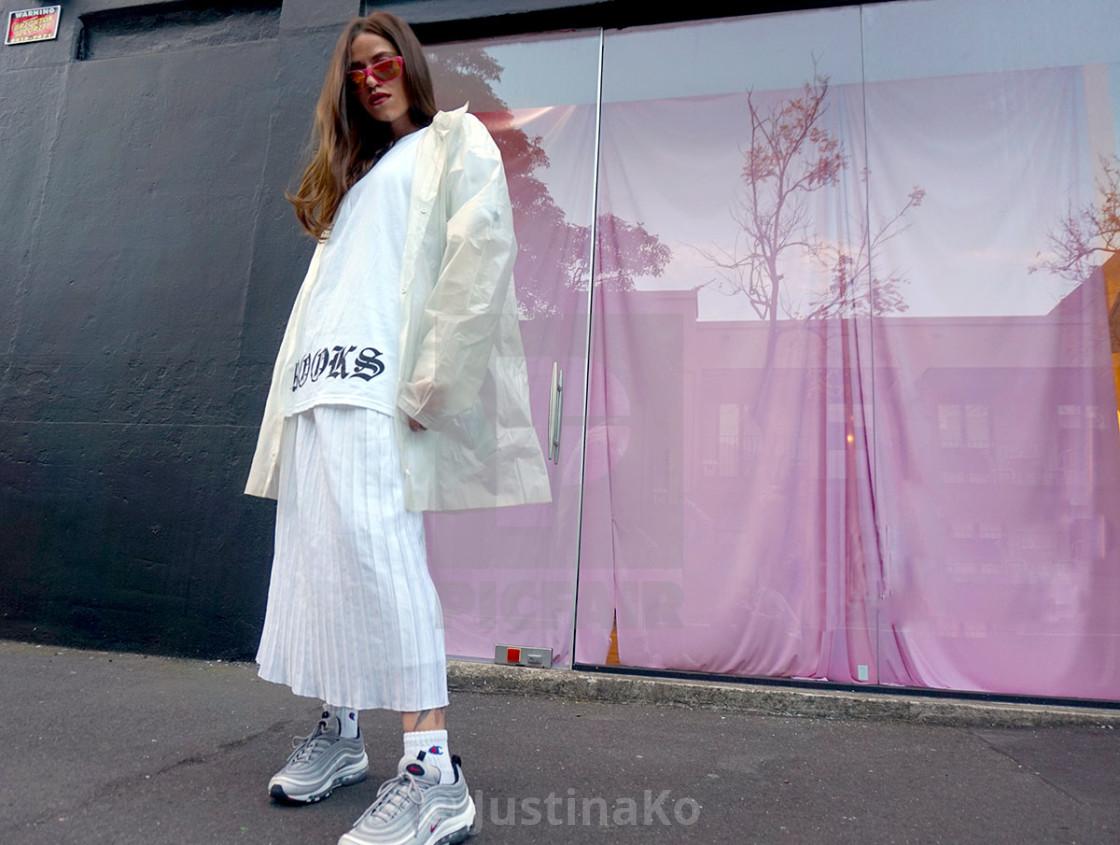 """street fashion"" stock image"