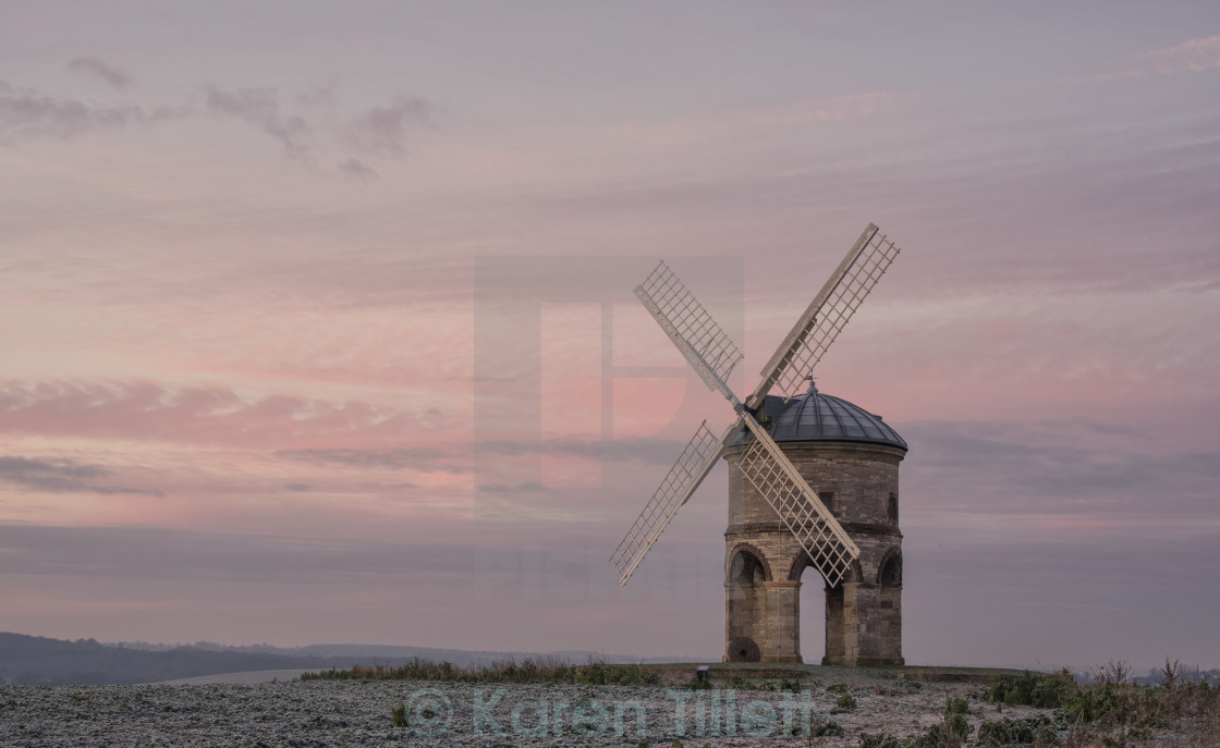 """The Chesterton Mill"" stock image"