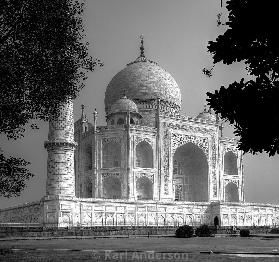 """The Taj Mahal!"" stock image"