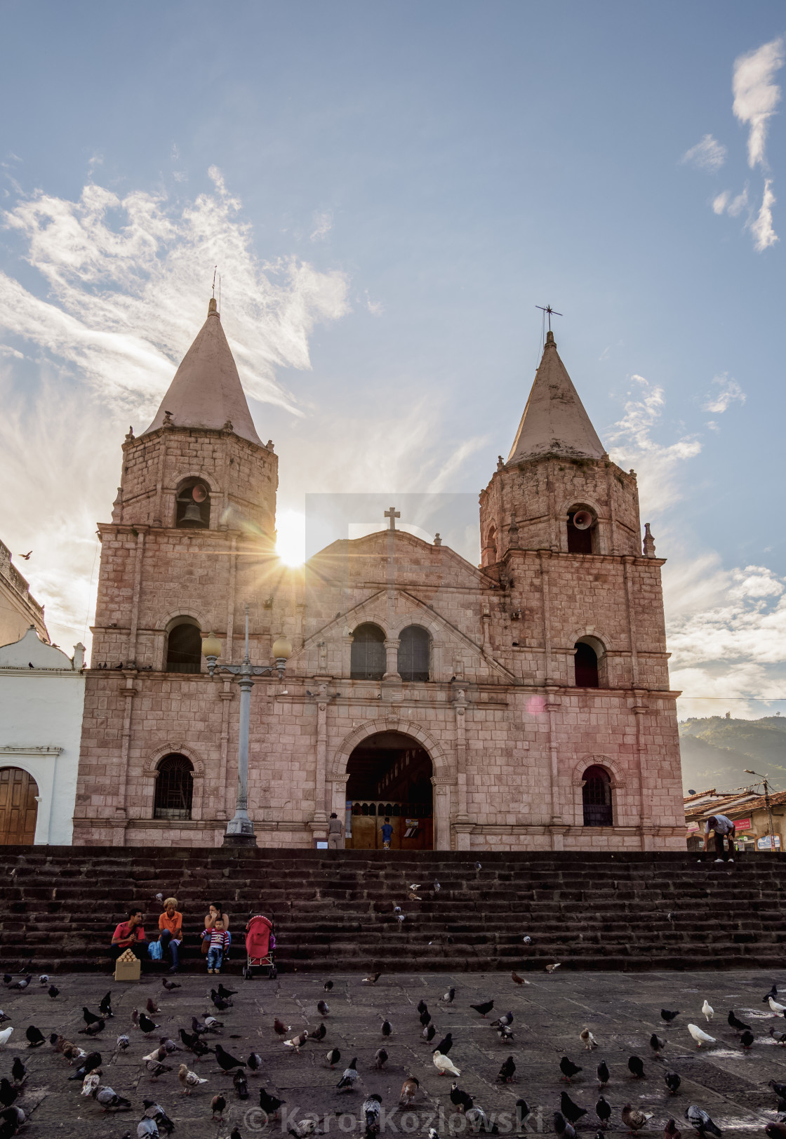 Church Of San Francisco Javier Main Square Piedecuesta Santander License Download Or Print For 49 00 Photos Picfair