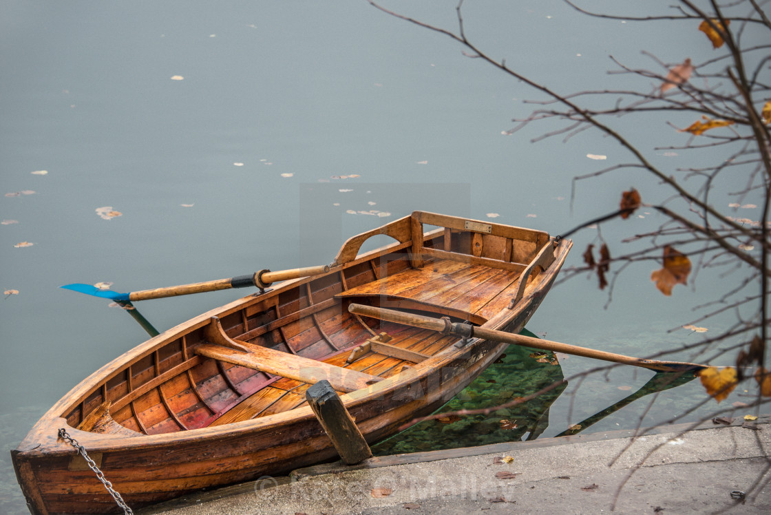 Wooden Row Boat On A Lake License Download Or Print For 7 44 Photos Picfair