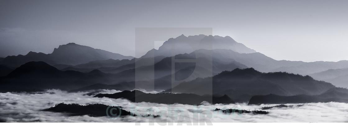 """Misty Hill | Huay Nam Dang"" stock image"