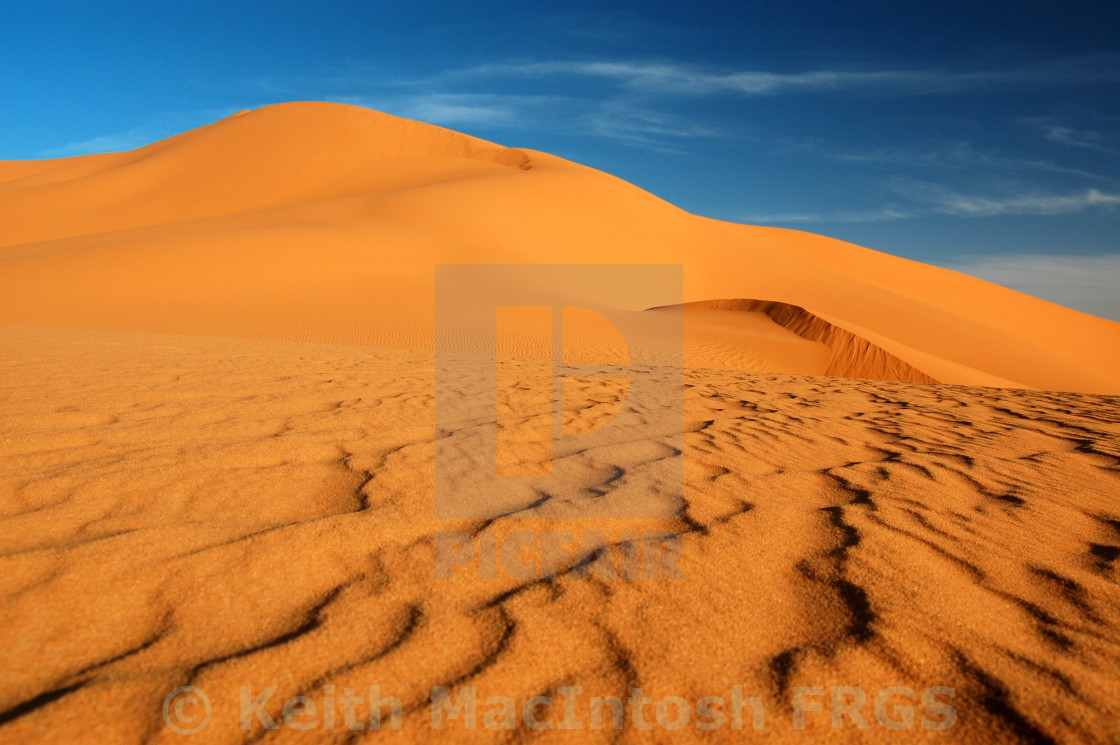 """Under Libyan Skies"" stock image"