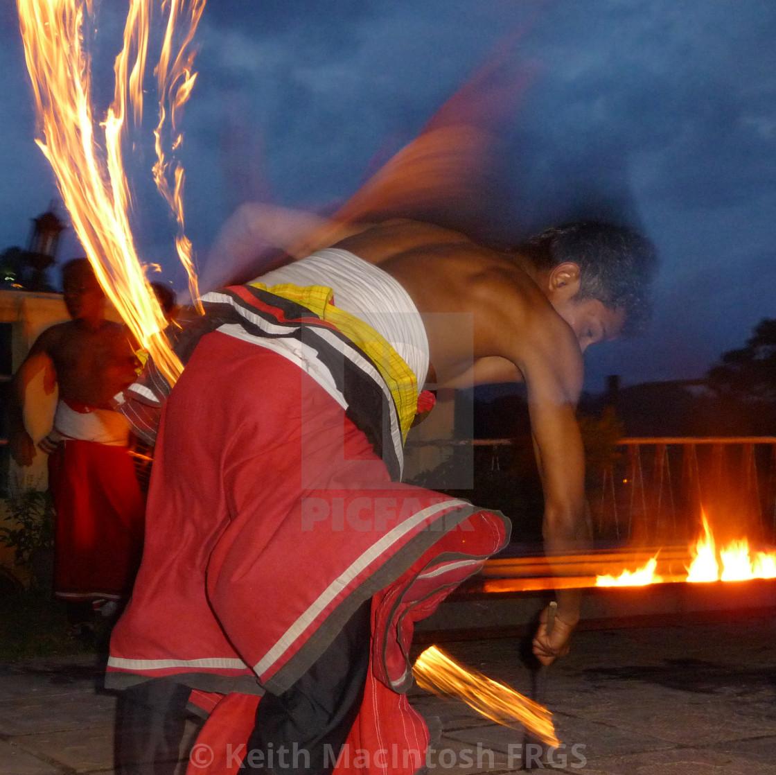 """Firedance"" stock image"
