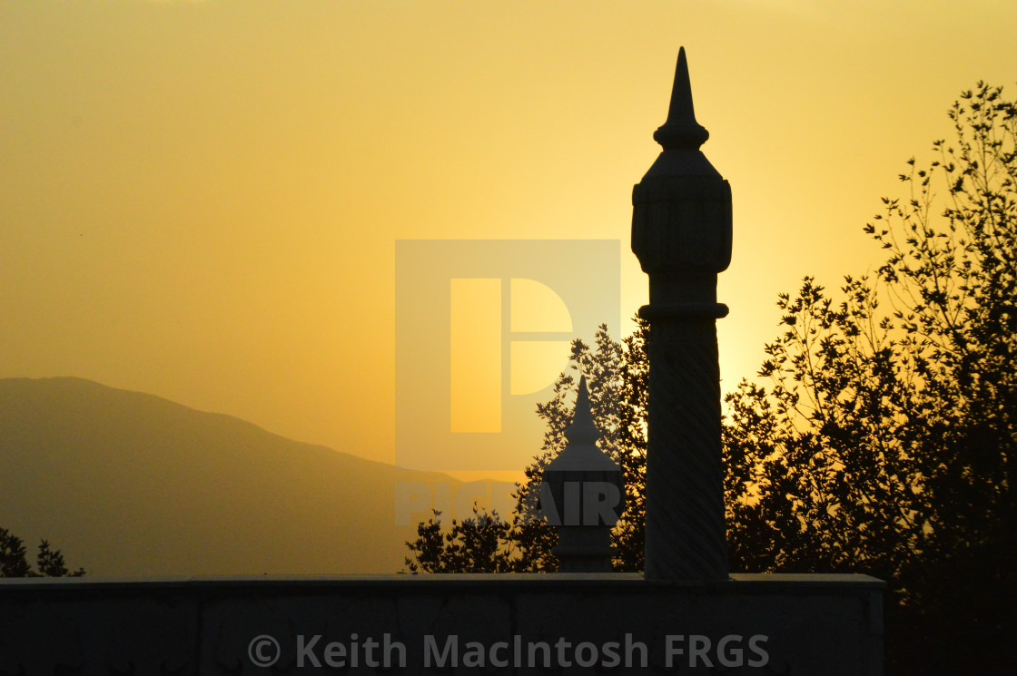 """""""Jahan's Mosque"""" stock image"""