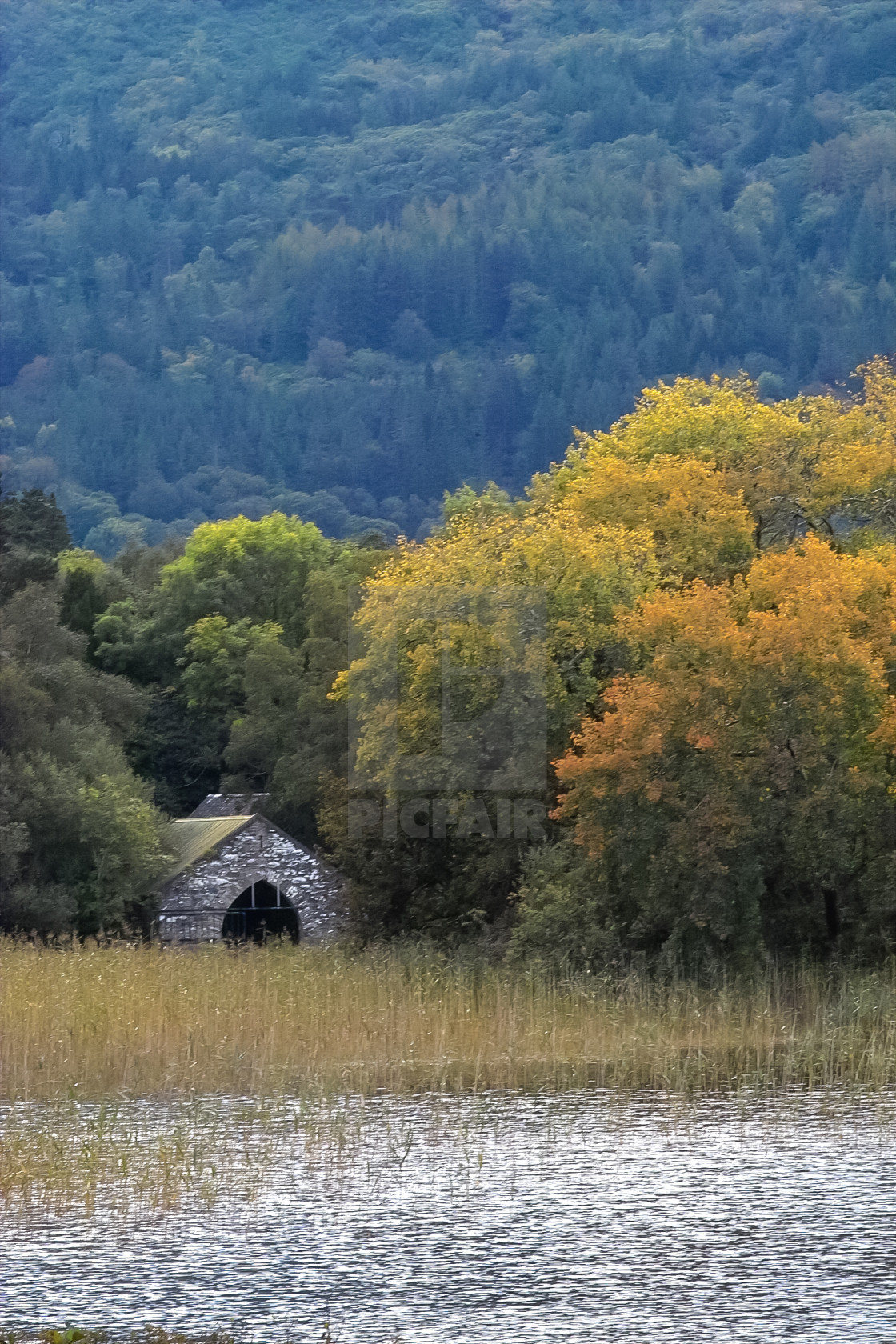 Old Boathouse Killarney Ireland - License, download or print