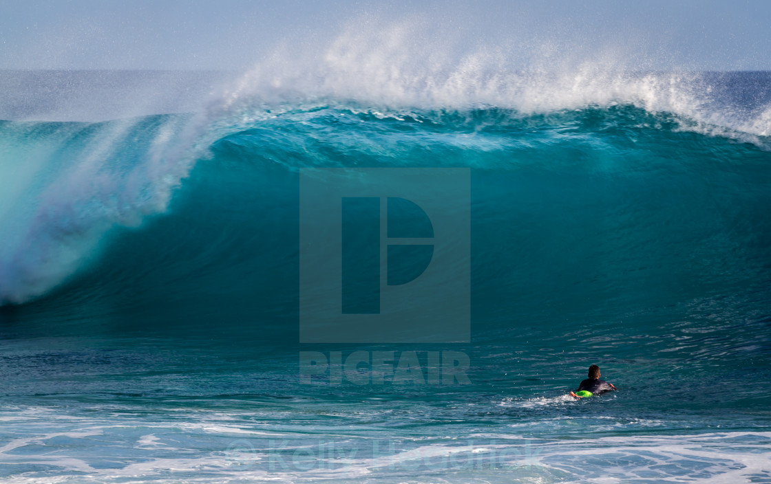 """Hawaii Ocean wave"" stock image"
