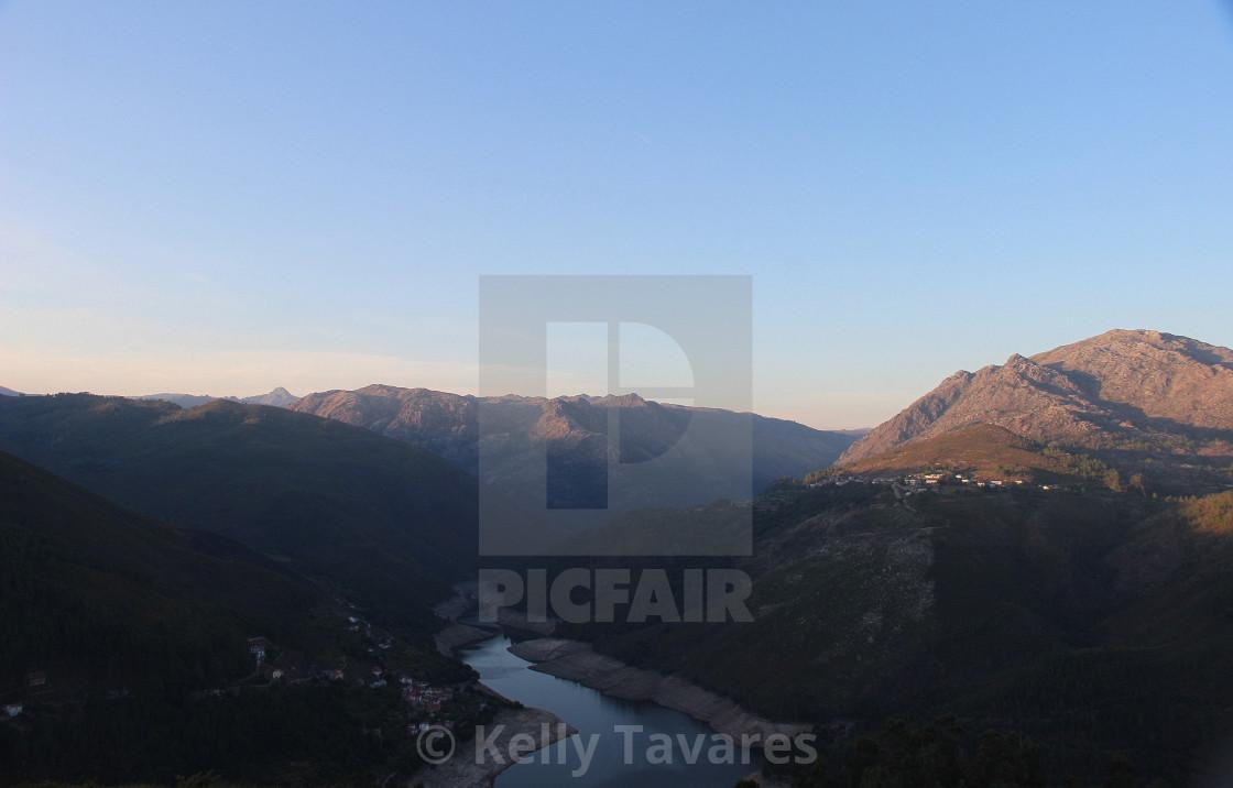 """""""Parque Nacional da Peneda-Gerês"""" stock image"""