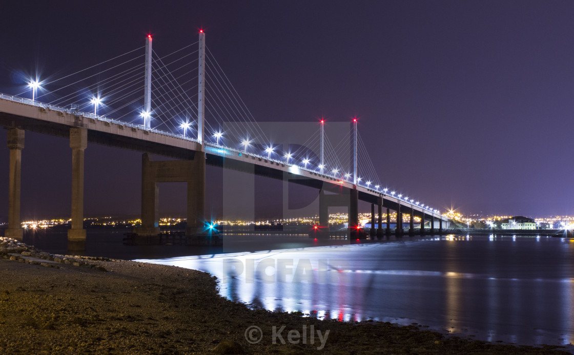 """Kessock Bridge"" stock image"