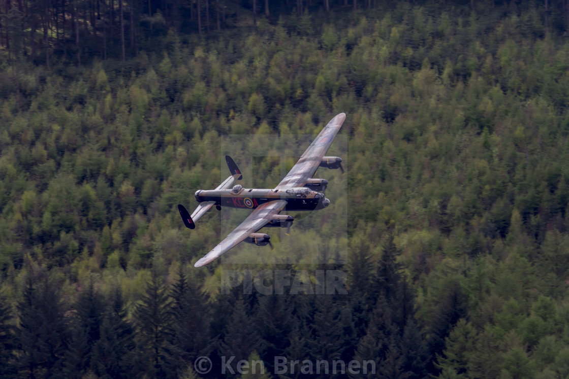 """Dambusters 70th Anniversary Flypast"" stock image"