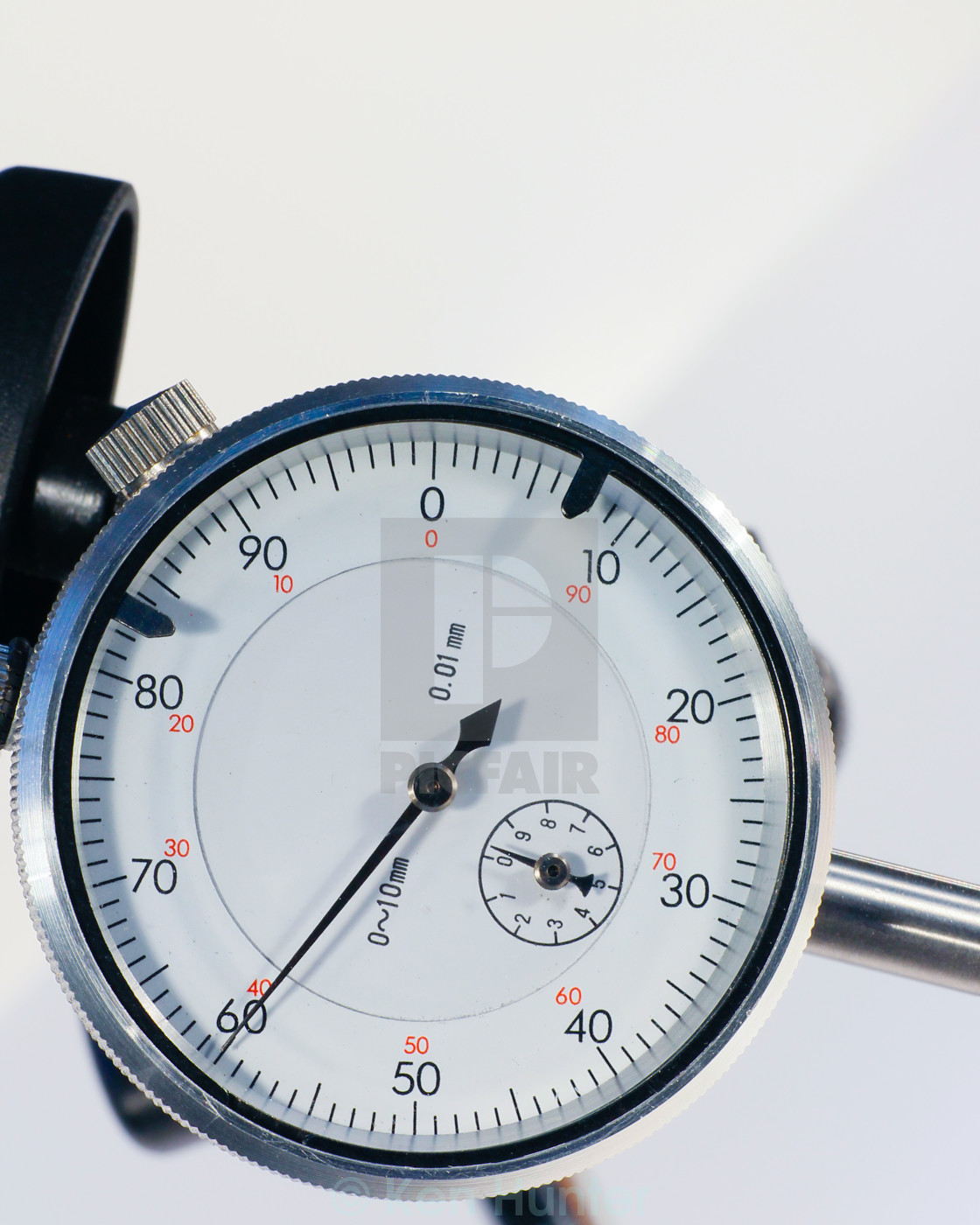 """Circular vernier depth gauge"" stock image"