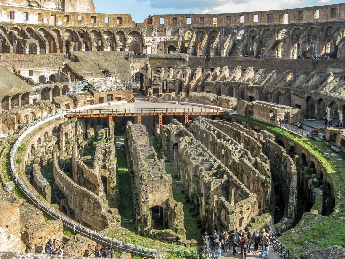 """Colosseum or Coliseum"" stock image"