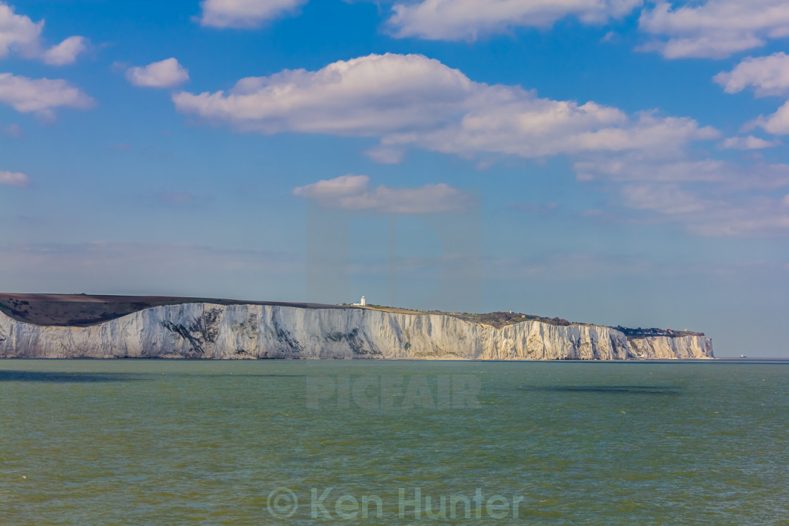 """White cliffs of dover"" stock image"