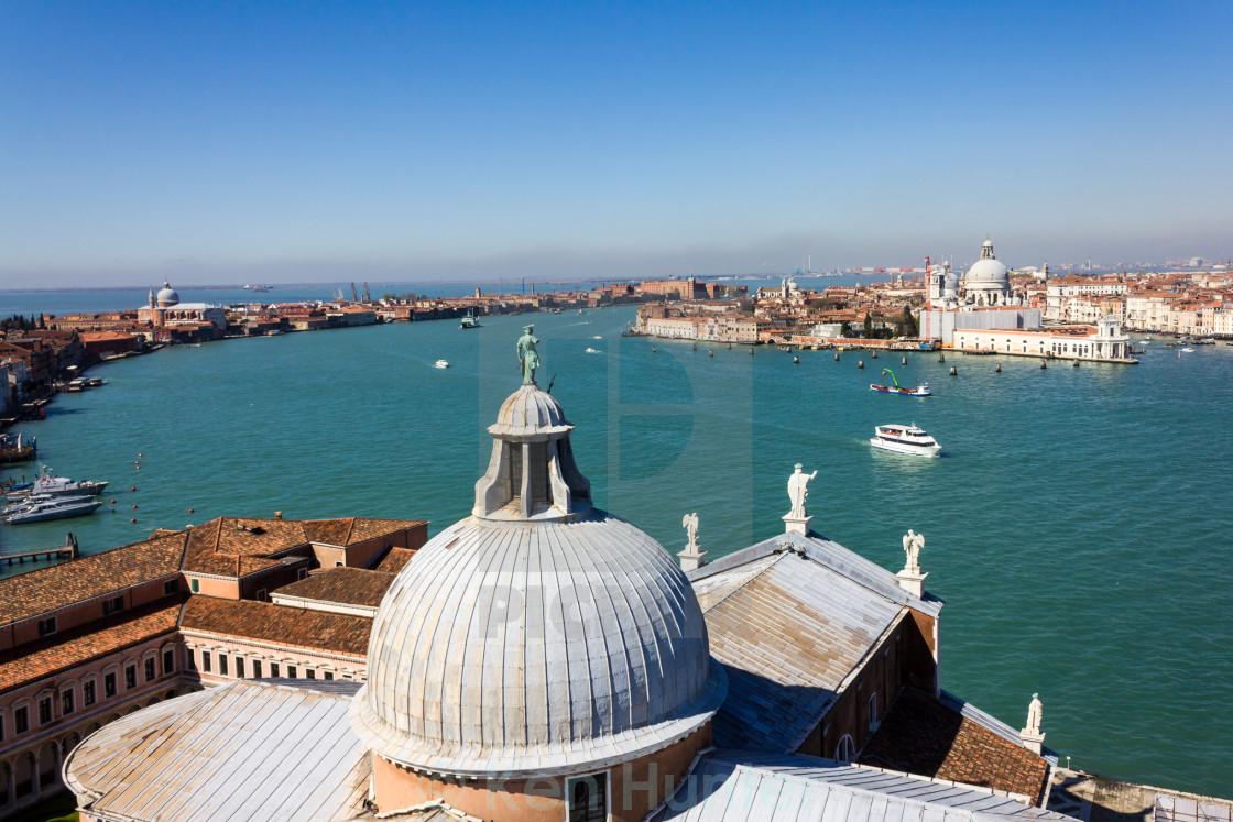 """Venice Lagoon"" stock image"