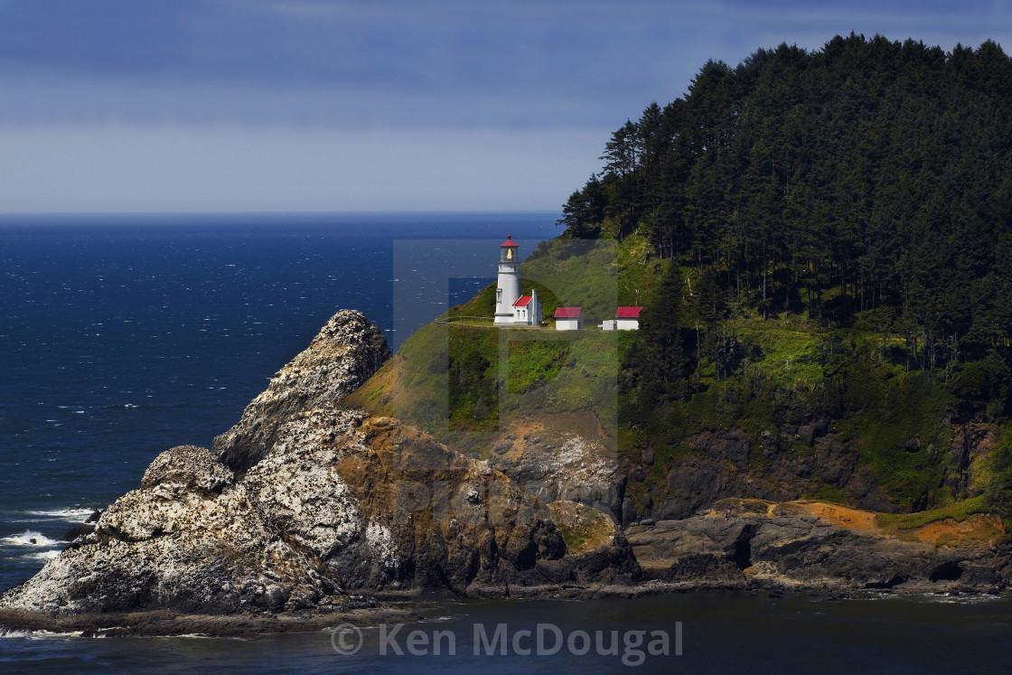 """Heceta Head Viewpoint"" stock image"