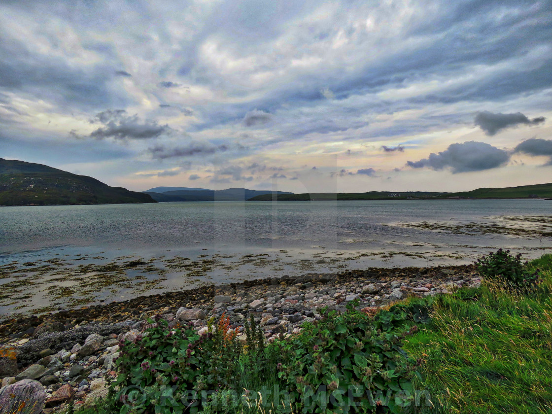 """Kyle of Durness"" stock image"