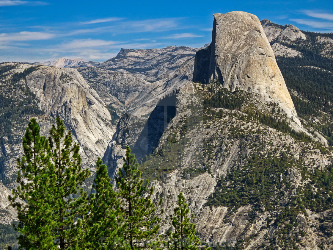 """Half Dome, Yosemite"" stock image"