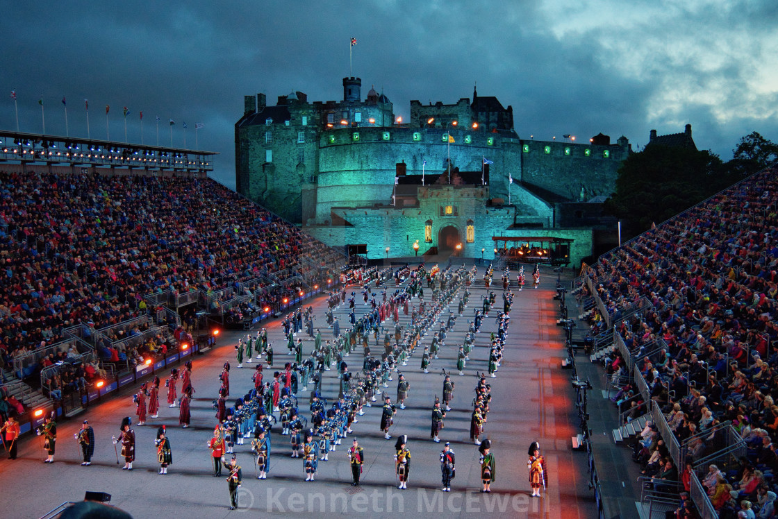 """Royal Edinburgh Military Tattoo"" stock image"