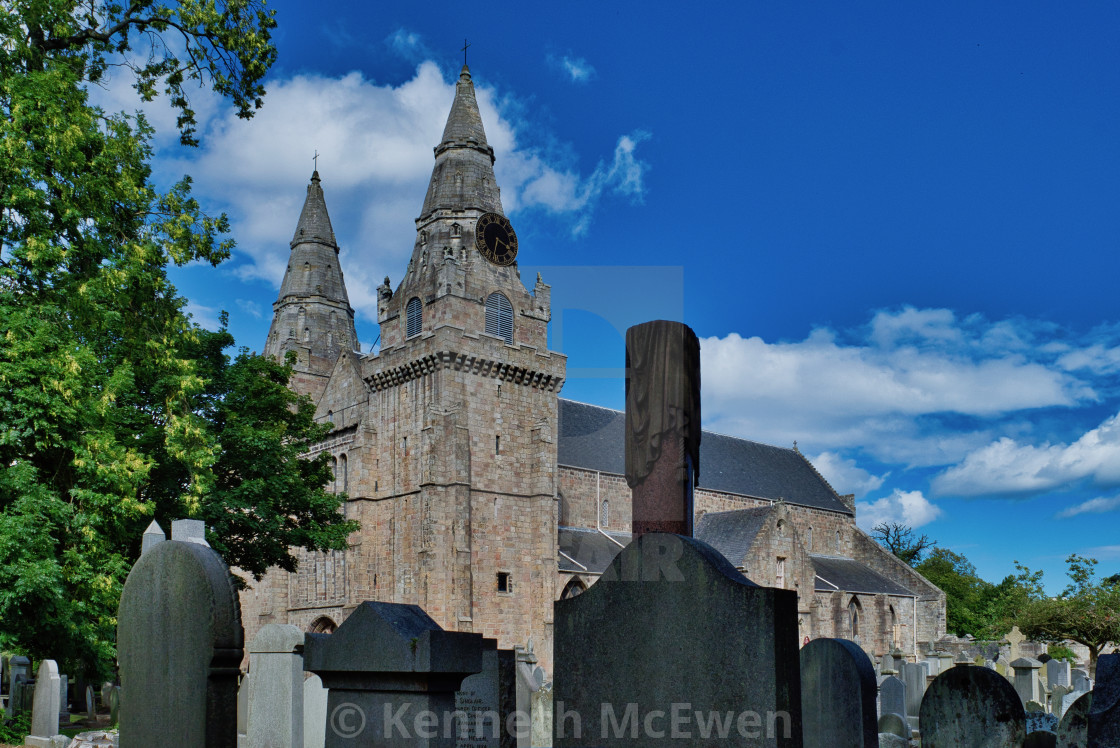 """St Machar's Cathedral"" stock image"