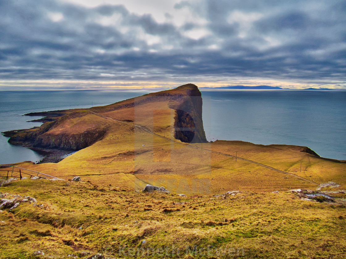 """Neist Point on the Isle of Skye"" stock image"