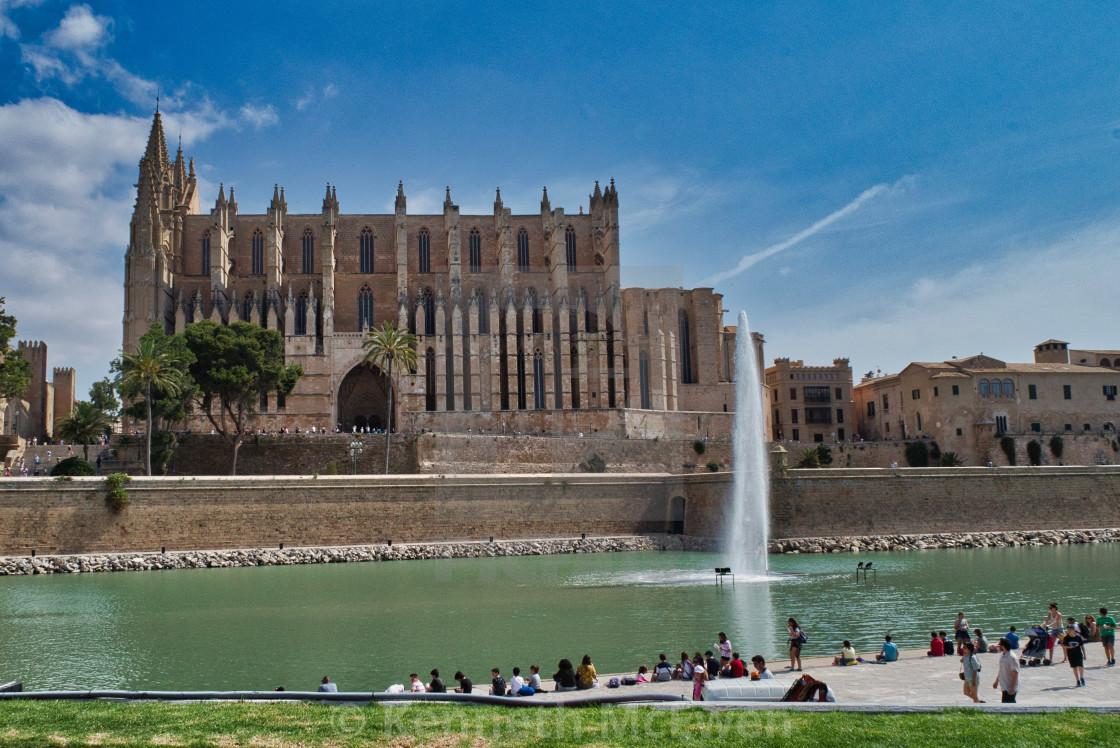 """""""Palma de Mallorca"""" stock image"""