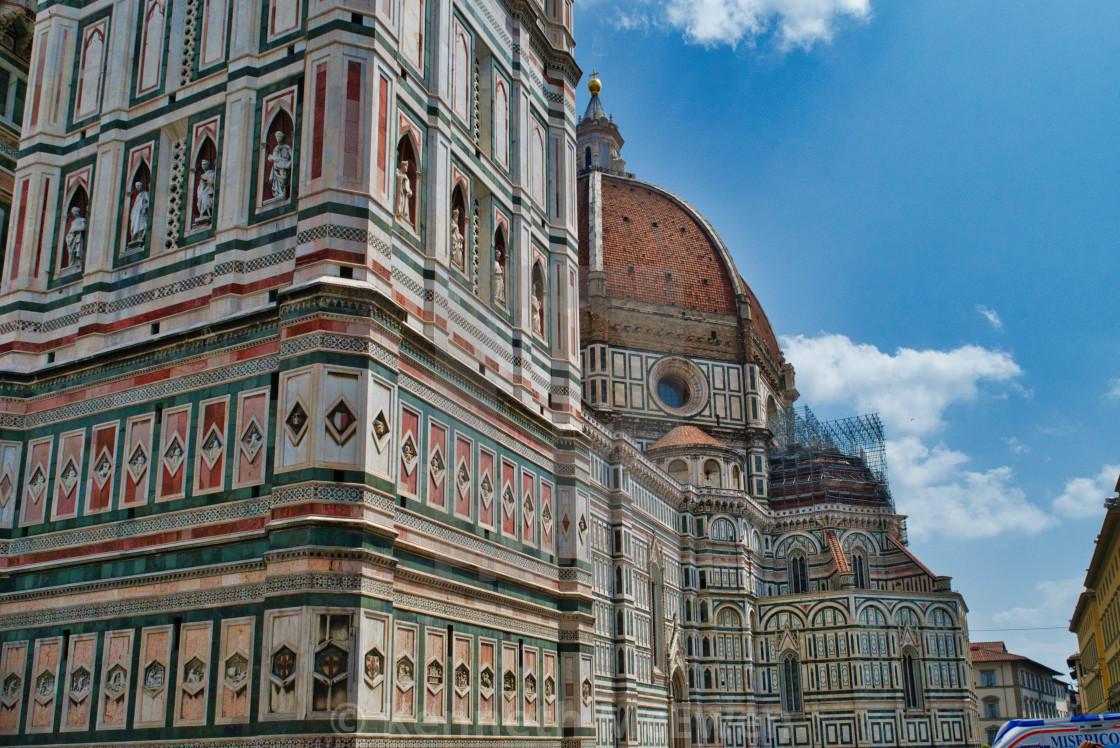 """""""Santa Maria del Fiore, Florence"""" stock image"""