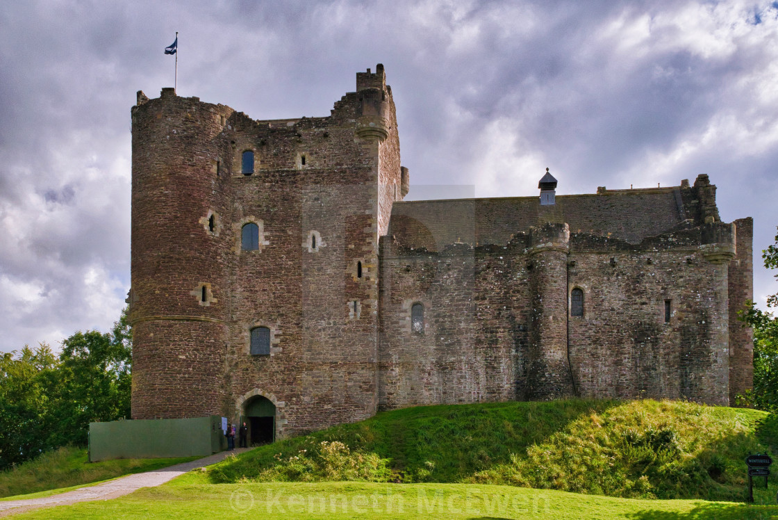"""""""Doune Castle"""" stock image"""