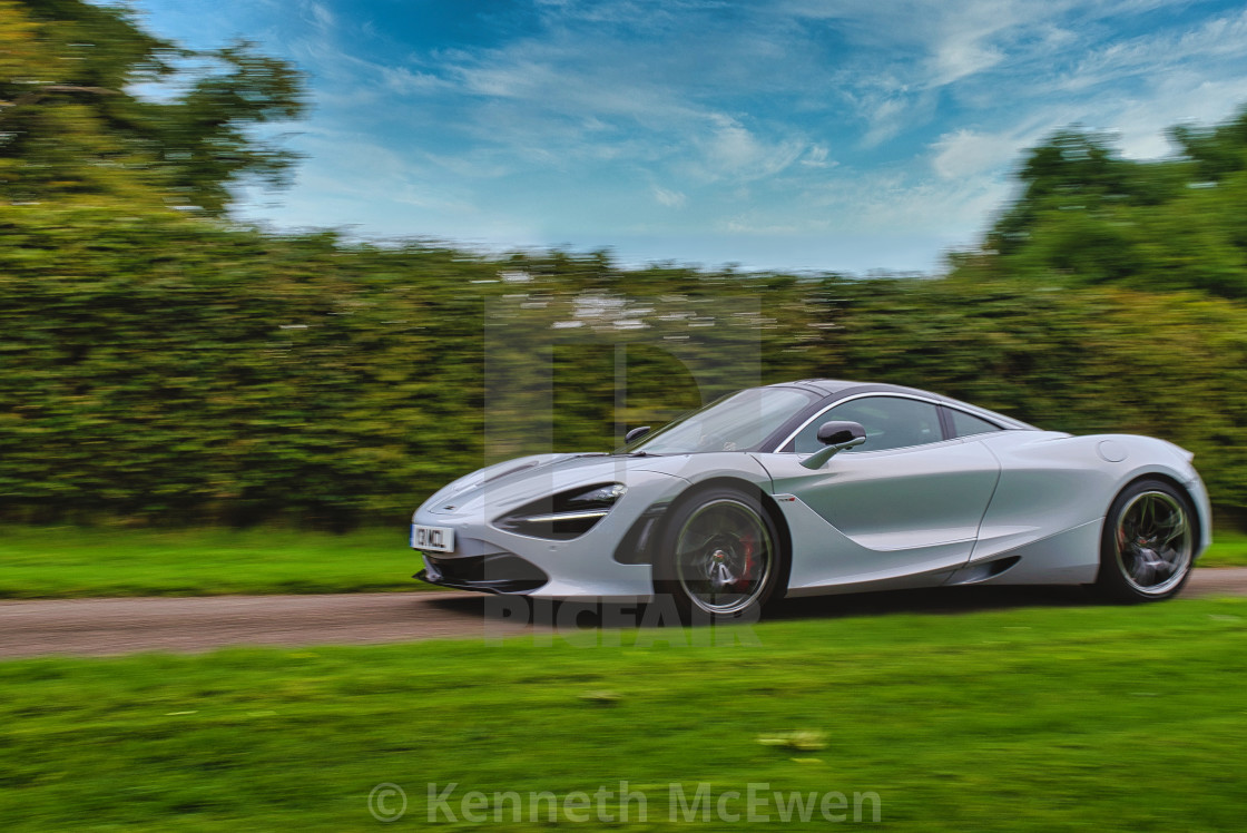 """""""McLaren sports car"""" stock image"""