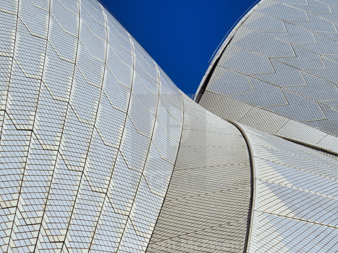 """Roof of the Sydney Opera House"" stock image"