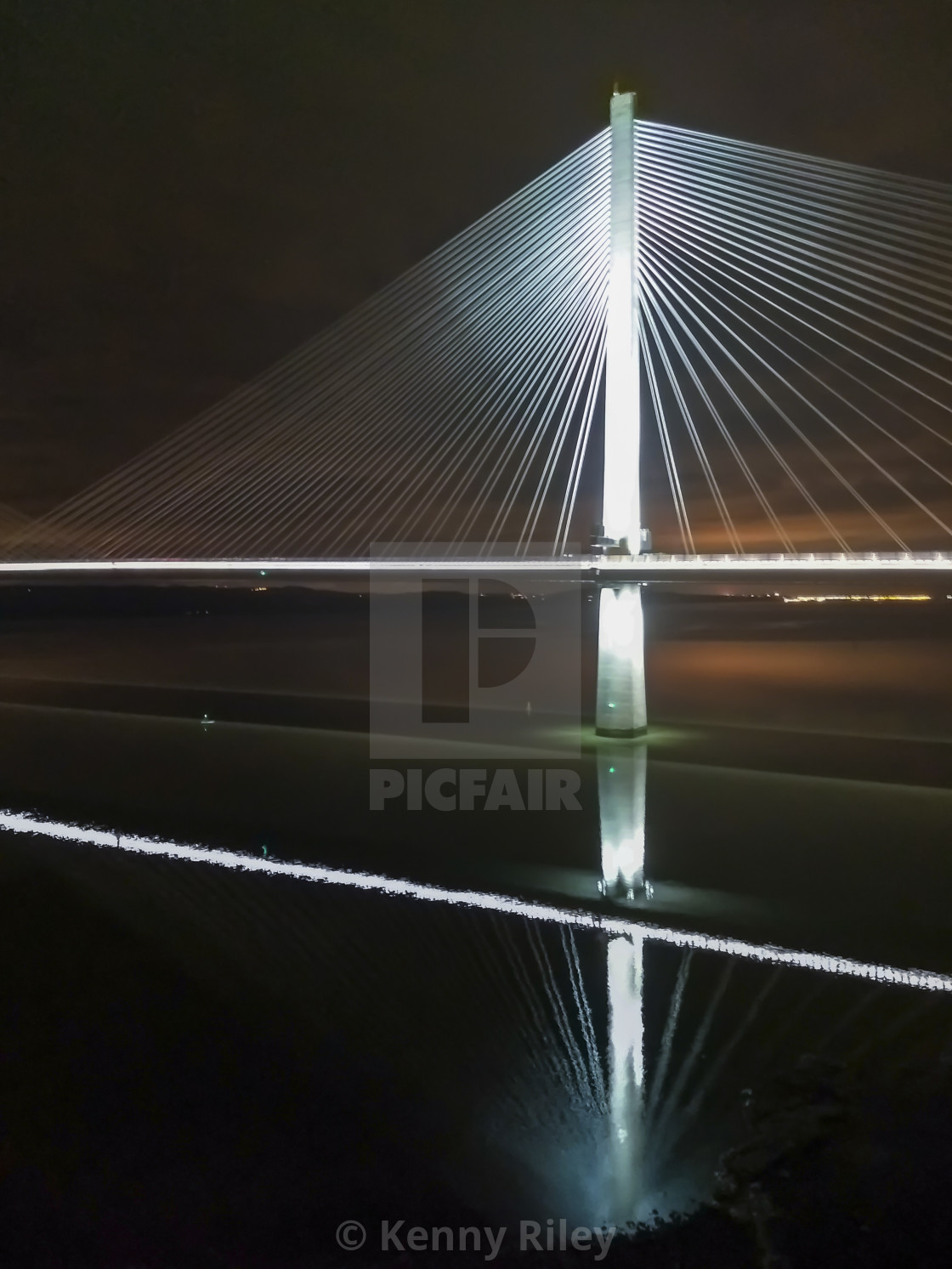"""Reflections of a Crossing"" stock image"