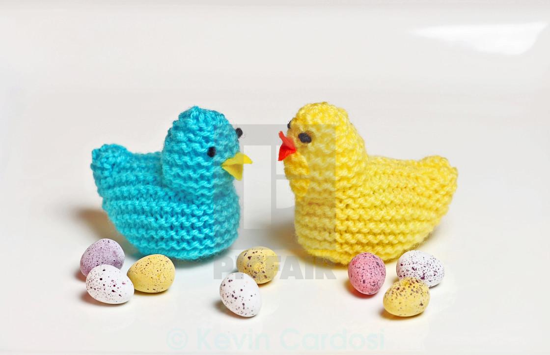 """Easter Chicks"" stock image"