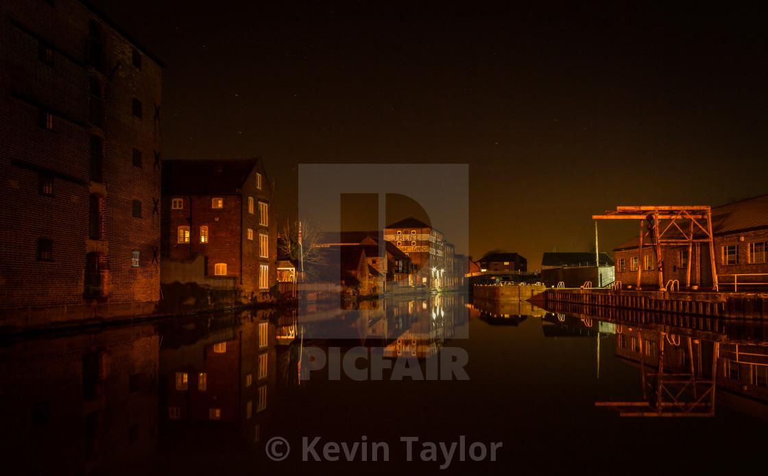 """CANAL SIDE"" stock image"