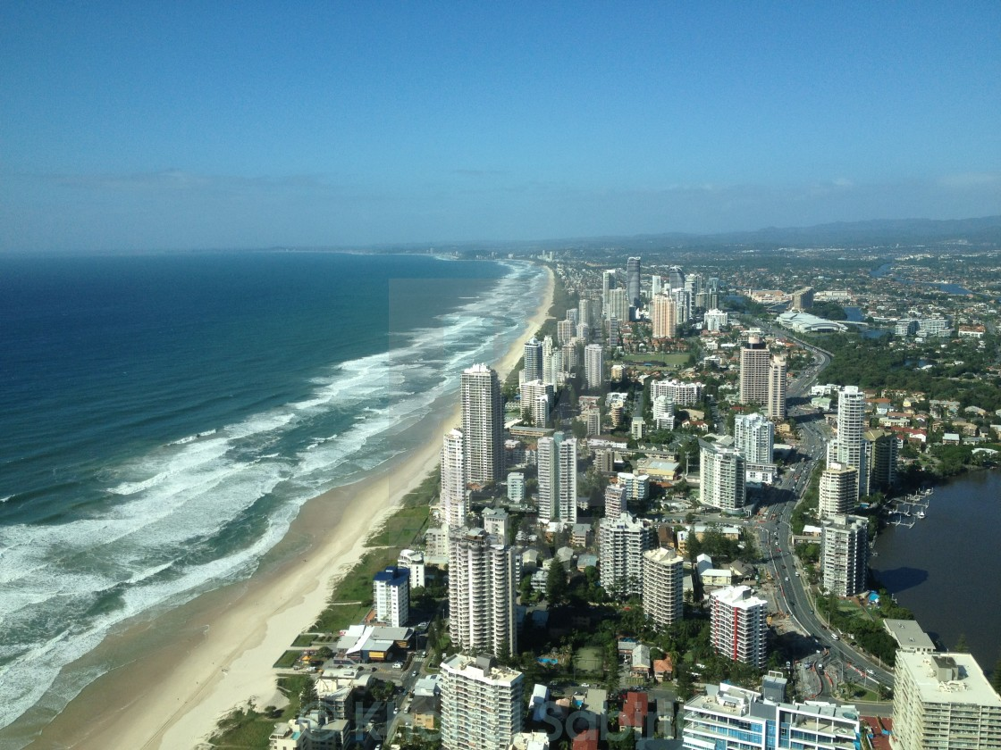 """Goldcoast Australia"" stock image"