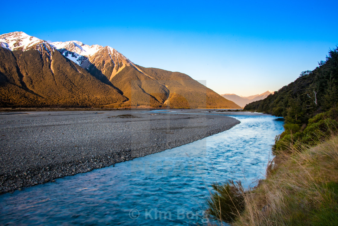 """Bealy River"" stock image"