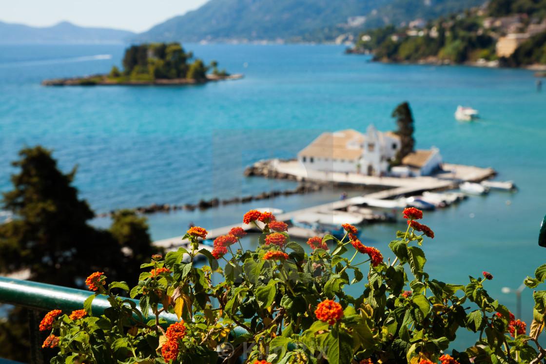 """Scenic Corfu"" stock image"