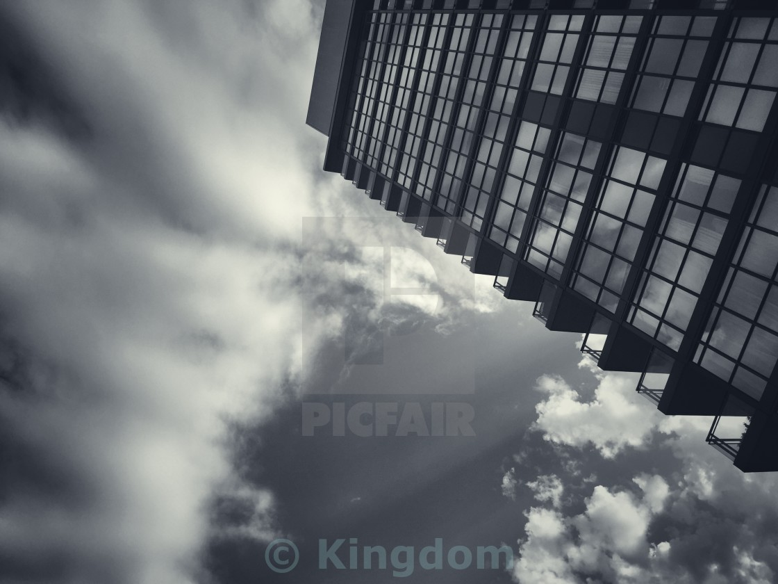 """Cloud surfing"" stock image"